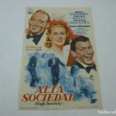 Foglietti di film di film antichi di cinema: ALTA SOCIEDAD-CON PUBLICIDAD - C 10. Lote 277441733