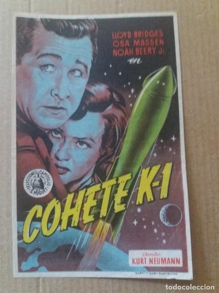 COHETE K-1 (Cine - Folletos de Mano - Ciencia Ficción)
