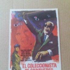 Cine: EL COLECCIONISTA DE CADÁVERES. Lote 277523988