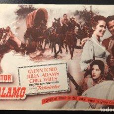 Cine: EL DESERTOR DEL ALAMO (1953). Lote 277811078
