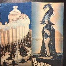 Cine: IL PARADISO DELLE FANCIULLE (1936). Lote 277825528