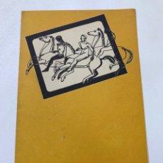 Cine: CLVUB MONTEROLS 1956 CICLO ANTOLÓGICO DEL CINE 27X21CM REF J. Lote 278199078