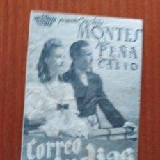 Cine: CORREO DE INDIAS (CON PUBLICIDAD). Lote 278216153