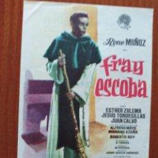 Cine: FRAY ESCOBA (CON PUBLICIDAD). Lote 278216618