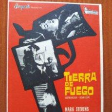 Cine: TIERRA DE FUEGO. Lote 278217278