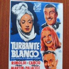 Cine: TURBANTE BLANCO (DOBLE). Lote 278217418