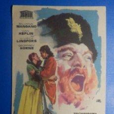 Cine: FOLLETO DE MANO - PELÍCULA FILM - LARGOMETRAJE - TEMPESTAD. Lote 278419623
