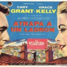 Cine: ATRAPA A UN LADRÓN . SENCILLO CON CINE. ALFRED HITCHCOCK. Lote 278476928