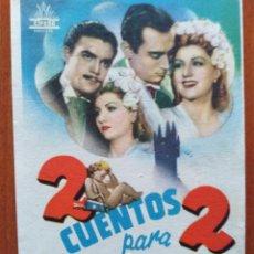 Cine: 2 CUENTOS PARA 2. Lote 278491088