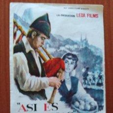 Cine: ASI ES ASTURIAS. Lote 278491218