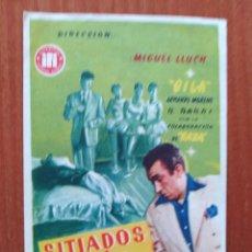 Cine: SITIADOS EN LA CIUDAD. Lote 278491543