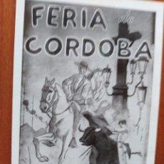 Cine: FERIA DE CORDOBA. Lote 278492003