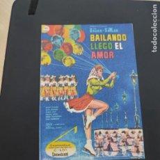 Cine: FOLLETO DE MANO BAILANDO LLEGO EL AMOR , INA BAUER ,. Lote 278543288