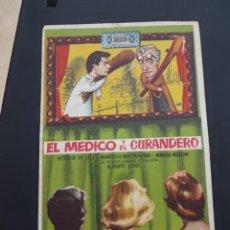 Cine: FOLLETO DE MANO EL MEDICO Y EL CURANDERO , VITTORIO DE SICA ,. Lote 278543333