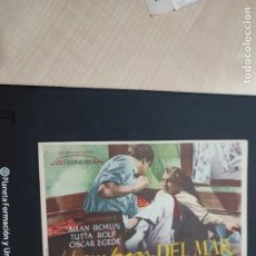 Cine: FOLLETO DE MANO HOMBRES DEL MAR , ALLAN BOHLIN. Lote 278543423