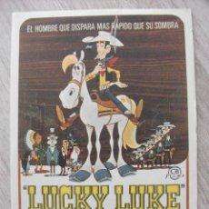 Cine: LUCKY KUKE EL INTREPIDO. Lote 278871028