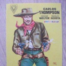 Cine: EL ULTIMO REBELDE, CARLOS THOMPSON. Lote 278872303