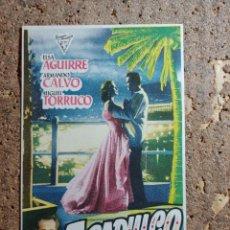 Cine: FOLLETO DE MANO DE LA PELICULA ACAPULCO. Lote 279414053