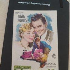 Cine: FOLLLETO DE MANO MELODIA INTERRUMPIDA , GLENN FORD , 1959. Lote 279419488