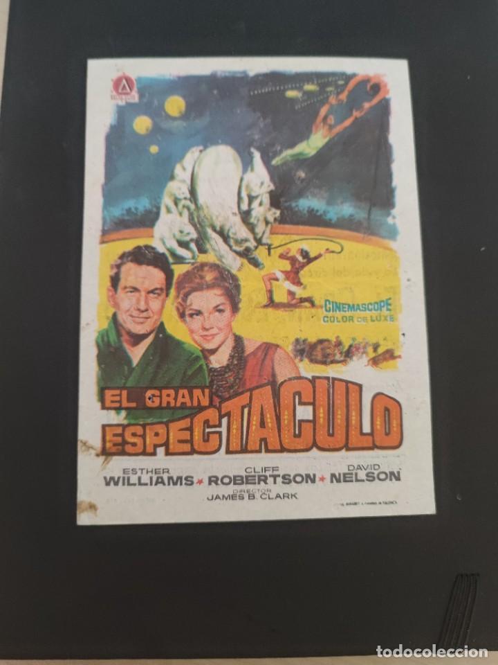 FOLLETO DE MANO EL GRAN ESPECTACULO , ESTHER WILLIAMS , 1964 (Cine - Folletos de Mano - Drama)