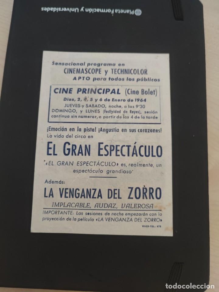 Cine: folleto de mano EL GRAN ESPECTACULO , Esther Williams , 1964 - Foto 2 - 279419588