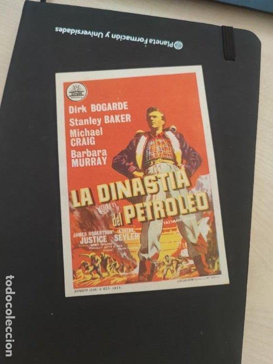 FOLLETO DE MANO LA DINASTIA DEL PETROLEO , DIRK BOGARDE , 1959 (Cine - Folletos de Mano - Drama)