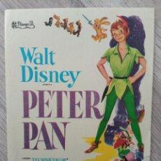 Cine: PETER PAN, DISNEY. Lote 279497333