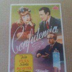 Cine: CONFIDENCIA. Lote 279588573