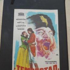 Cine: FOLLEATO DE MANO TEMPESTAD , SILVANA MANGANO , 1961. Lote 280113643