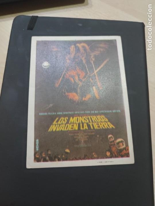 FOLLETO DE MANO OS MONSTRUOS INVADES LA TIERRA , (Cine - Folletos de Mano - Drama)