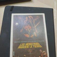 Cine: FOLLETO DE MANO OS MONSTRUOS INVADES LA TIERRA ,. Lote 280114268