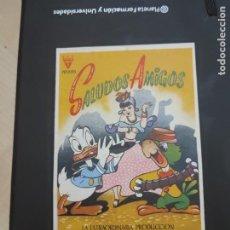 Cine: FOLLETO DE MANO SALUDOS AMIGOS , WALT DISNEY , 1945. Lote 280122623