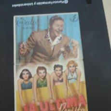 Cine: FOLLETO DE MANO LA ULTIMA REVISTA , JACK OAKIE ,. Lote 280122913