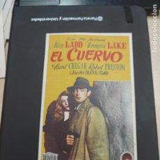 Cine: FOLLETO DE MANO EL CUERVO ALAN LADD , 1948. Lote 280123918