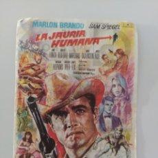 Cine: PUBLICIDAD ANTIGUA CINE LA JAURÍA HUMANA. Lote 281933173