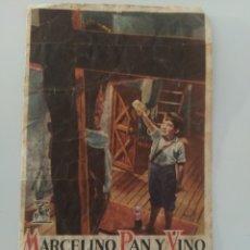 Cine: PUBLICIDAD ANTIGUA CINE MARCELINO PAN Y VINO. Lote 281933803
