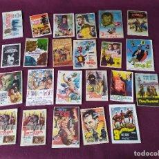 Folhetos de mão de filmes antigos de cinema: LOTE DE 22 FOLLETOS DE CINE, DIFÍCILES, ANTIGUOS O VINTAGE, NOMBRES PELÍCULAS CON LA T. Lote 282176123