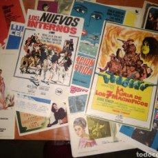 Cine: FOLLETOS DE MANO -15 DIFERENTES-ACCION -AVENTURAS COMEDIA..... Lote 282594343