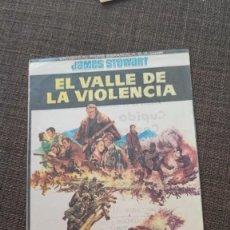 Cine: FOLLETO DE MANO EL VALLE DE LA VIOLENCIA , JAMES STEWART , 1967 , REF 94. Lote 283336858