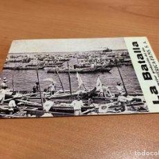 "Folhetos de mão de filmes antigos de cinema: FOLLETO DE CINE ANTIGUO ""LA BATALLA "". EXCLUSIVAS IBÉRICA FILMS.TARJETA. MUY RARO.. Lote 285042533"