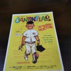 Folhetos de mão de filmes antigos de cinema: PROGRAMA DE MANO ORIG - EL SEÑOR DOCTOR - CON CINE DE TARRAGONA IMPRESO AL DORSO. Lote 285429718