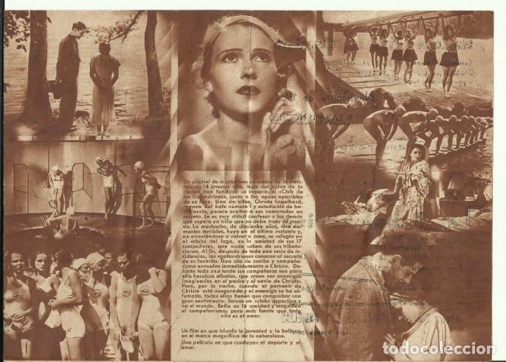 Cine: PTCC 071 LAS 8 GOLONDRINAS PROGRAMA DOBLE FILMOFONO KARIN HARDT THEODOR LOOS CNT UGT Nov 1936 - Foto 2 - 286215063