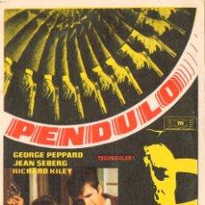 Cine: PENDULO CON GEORGES PEPPARD. Lote 286355368