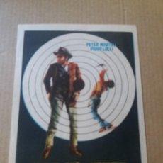 Folhetos de mão de filmes antigos de cinema: DOS HOMBRES VAN A MORIR. Lote 286421258