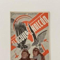 Cine: EL ÁGUILA Y EL HALCÓN. PROGRAMA DOBLE PARAMOUNT. CARY GRANT, CAROLE LOMBARD. PERFECTO. Lote 286511953