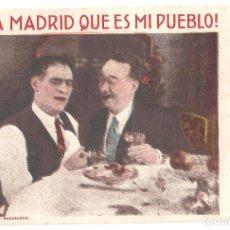 Folhetos de mão de filmes antigos de cinema: PTCC 065 VIVA MADRID QUE ES MI PUEBLO PROGRAMA TARJETA CINE ESPAÑOL CARMEN VIANCE FLORENCIA BECQUER. Lote 286529198