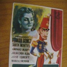 Folhetos de mão de filmes antigos de cinema: F164 PROGRAMA DE MANO ORIGINAL EL DE LA FOTO. Lote 286603288