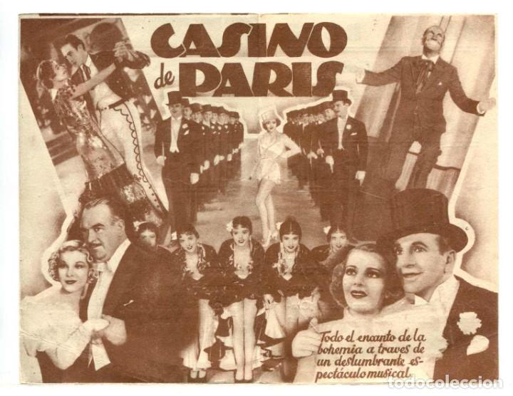 Cine: CASINO DE PARIS, con Al Jolson. - Foto 2 - 286740398