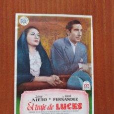 Cine: EL TRAJE DE LUCES (CON PUBLICIDAD). Lote 286817823