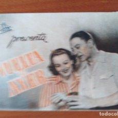 Cine: VUELTA AL AYER (CON PUBLICIDAD). Lote 286817953